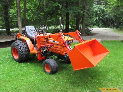 Kubota B6200E loader right side by Arthur R., Torrance, Ontario, CN (2)