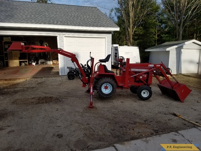 WheelHorse D series Micro Hoe by Matt C., West Bend, WI