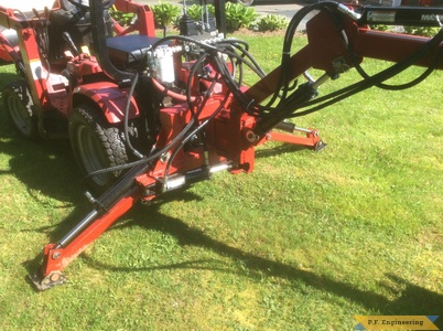 Honda 5518 loader stabilizer arms by Rick C., Berwick, Nova Scotia, CN