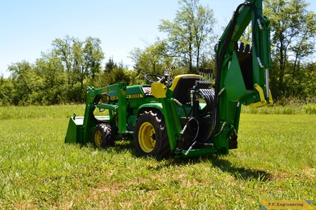 John Deere 210 Micro Hoe and Loader by Ryan B., Mayetta, KS