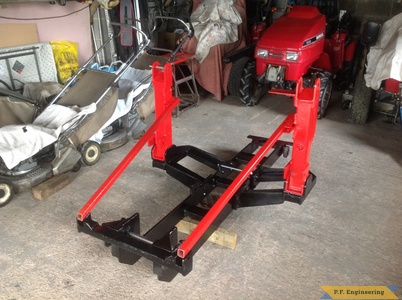 Honda 5518 loader subframe by Simon B.