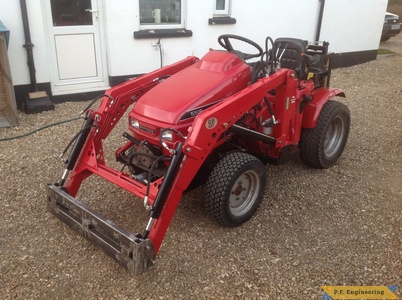 Honda 5518 loader with quick attach by Simon B.