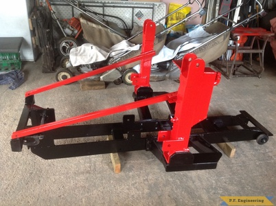 honda 5518 loader subframe left side by Simon B.