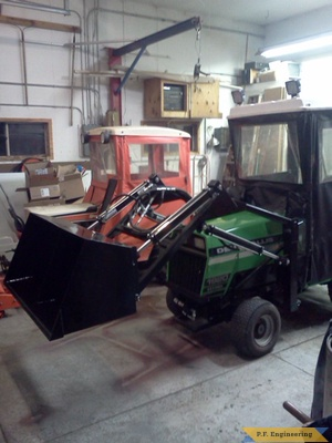 Deutz-allis 1920  loader bucket by Steve P., Oostburg, WI
