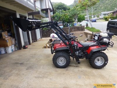 honda ATV loader by Sunny N., Honolulu, HI