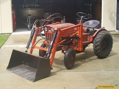 Economy Power King compact tractor loader_1