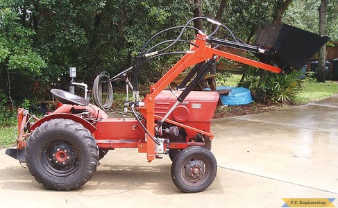 Economy Power King compact tractor loader_2
