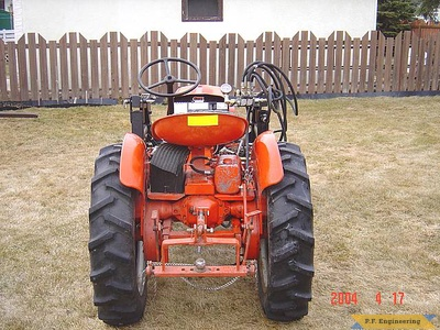 Economy Power King compact tractor loader_5