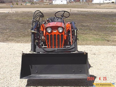Economy Power King compact tractor loader_8