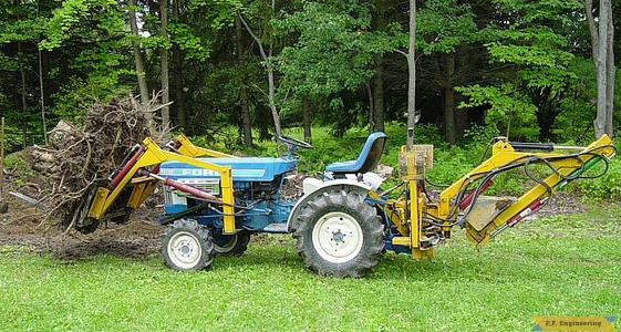 Ford 1110 compact tractor loader_1