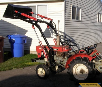 Yanmar YM1300 compact tractor loader_1