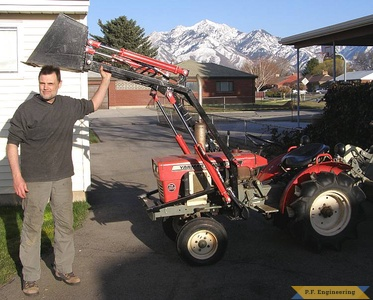 Yanmar YM1300 compact tractor loader_2